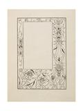 "Frontispiece To Bon Mots"""" Giclee Print by Aubrey Beardsley"