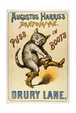 gato con botas, El|Puss in Boots Lámina giclée