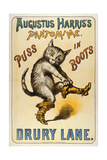 Puss in Boots Giclee Print
