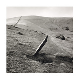 Markerstone, Old Harlech To London Road, Wales 1976 Giclee Print by Fay Godwin