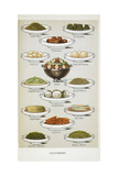 Vegetables. Various Vegetable Dishes Giclee Print by Isabella Beeton