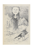 a Fictional Native Inhabitant Of the Moon Giclee Print by Georges Le Faure