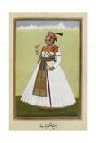 Portrait Rav Raja Nup Singh Of Uniara Giclee Print