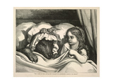 Red Riding Hood Giclee Print by Gustave Dor'e