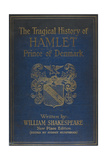 Cover For the Play by Shalespeare, Hamlet. Illustrated With a Coat Of Arms. Giclee Print