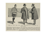 A Comment On the Transfer Of Professional Footballers From One Club To Another Giclee Print