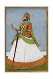 Portrait Of Maharaja Jagat Singh Of Jaipur (R.1803-1818) Giclee Print