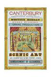 Canterbury Theatre Of Varieties Giclee Print