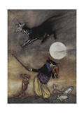 The Old Nursery Rhymes Giclee Print by Arthur Rackham