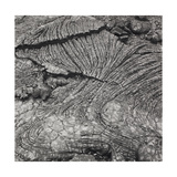 1989 Lava Flow, Hawaii. Volcanoes National Park 1992 Giclee Print by Fay Godwin
