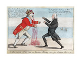 The War Of 1812: the Boxing Match, Or Another Bloody Nose For John Bull Giclee Print