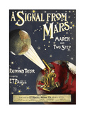 A Signal From Mars Giclee Print by Raymond Taylor