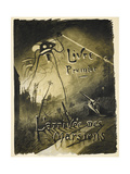 Henrique Alvim-Correa - The War Of the Worlds - Giclee Baskı