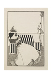 A Catalogue Cover Reproduction procédé giclée par Aubrey Beardsley