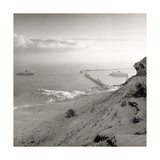Eastern Docks Dover 1981 From the Saxon Shore Way Series Giclee Print by Fay Godwin