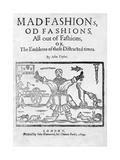 Mad Fashions Giclee Print