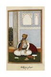 Manohar Singh, Ancestor Of the Khangarot Sub-clan Of the Kacchvahas, Ruling House Of Jaipur Giclee Print