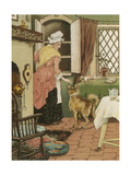 Old Mother Hubbard Giclee Print by William Gibbons