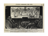Punch's Almanack Giclee Print by George Du Maurier