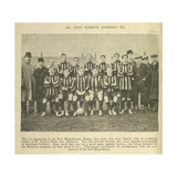 Mr Fred Karno's Football XI Giclee Print