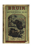 Illustrated Front Cover Showing a Man Being Attacked by a Brown Bear Giclee Print by Thomas Reid