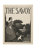 "Cover Design For No.1 Of the Savoy"""" Giclee Print by Aubrey Beardsley"
