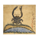 A Crab Giclee Print by Aristotle ibn Bakhtishu