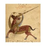 A Unicorn Giclee Print by Aristotle ibn Bakhtishu