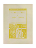 The Mirror Of Music Giclee Print by Aubrey Beardsley