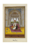 Portrait Of Lehna Singh (D.1869), Son Of Mahtab Singh, Raja Of Thanesar Giclee Print