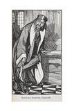 Illustration Of Shylock From the Merchant Of Venice Giclee Print by Arthur Rackham