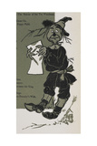 The Scarecrow Giclee Print by William Denslow