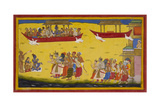 Journey To Ayodhya Giclee Print by Sahib Din
