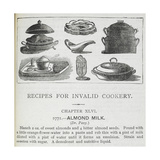 Recipes For Invalid Cookery Giclee Print by Isabella Beeton