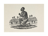 A Slave in Shackles. Giclee Print by Thomas Bewick