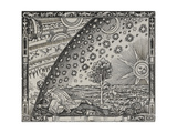 The Sun, Moon and Stars Giclee Print by Camille Flammarion