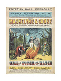 Maskelyne and Cooke's Entertainment Giclee Print