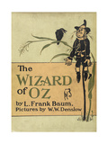 The Scarecrow, a Character in the Story, 'the Wizard Of Oz' Giclee Print by William Denslow