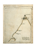 Map Of Cape Fortunate Giclee Print