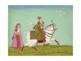 Chand Bibi Hawking Giclee Print