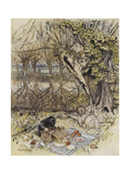 The Wind in the Willows Gicleetryck av Arthur Rackham