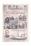 Oscar Wilde Trial Giclee Print