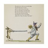 (Story Continued From Page 12). the Hare Giclee Print by Heinrich Hoffmann