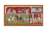 Scene From the Ramayana Giclee Print