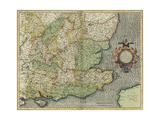 South-east England Giclee Print