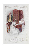 "Well Jane, Who Is It From . What Is It About "".Illustration To 'Pride and Prejudice' Giclee Print by Charles Edmund Brock"