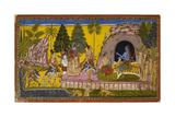 Rama Anoints Bibishana Giclee Print