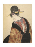 Kabuki Actor in Female Role Giclee Print by Toyokuni Utagawa