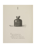 Inkstand Illustrations and Verses From Nonsense Alphabets Drawn and Written by Edward Lear. Giclée-Druck von Edward Lear