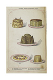 Various Desserts Giclee Print by Isabella Beeton